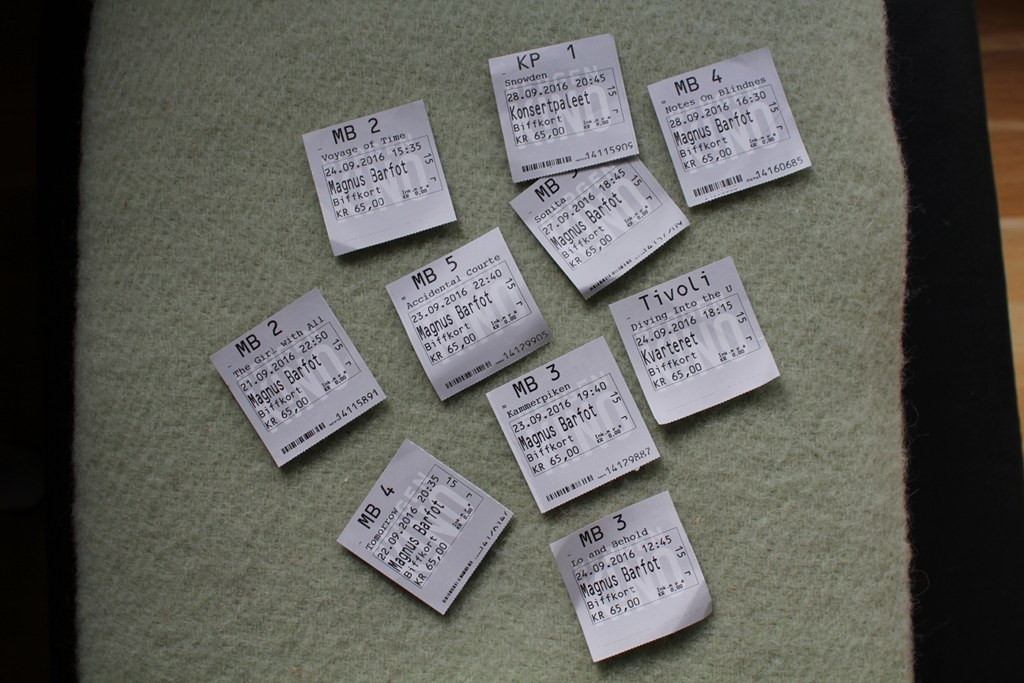 Bilete av Biff billettar